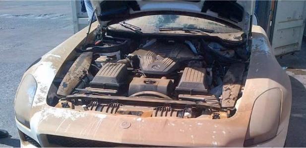 Mercedes SLS AMG znaleziony na dnie oceanu