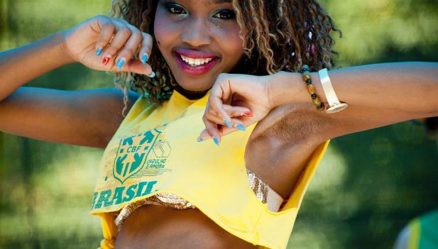 tańcząca sambę brazylijka
