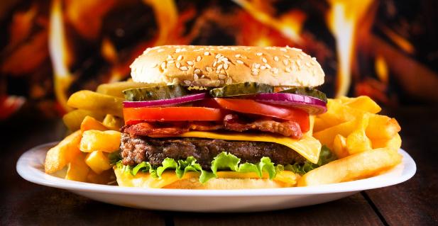 XXX hot chilli burger