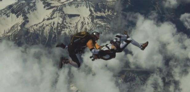 freeflying Mont Blanc