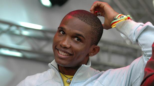 Samuel Eto piłkarz Kamerunu