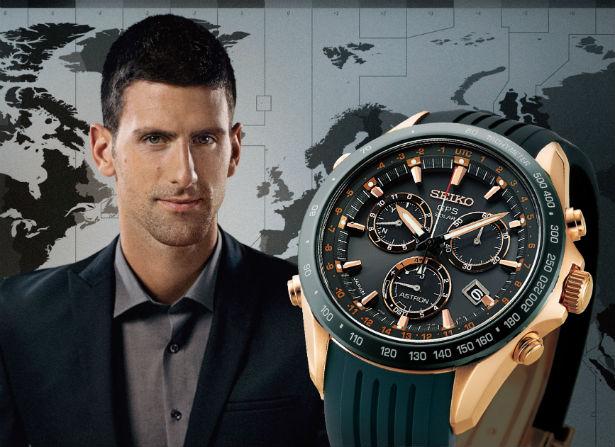 Novak Djokovic reklama