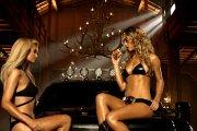 Paris Hilton reklamuje hambuergery