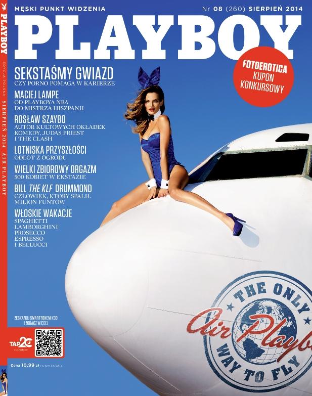 Playboy sierpień 2014