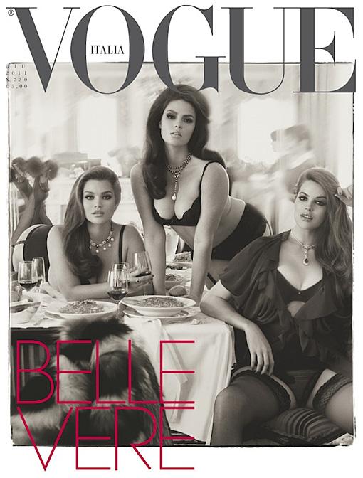 Candice Huffine Vogue italia