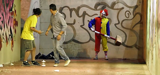 zabójczy klaun
