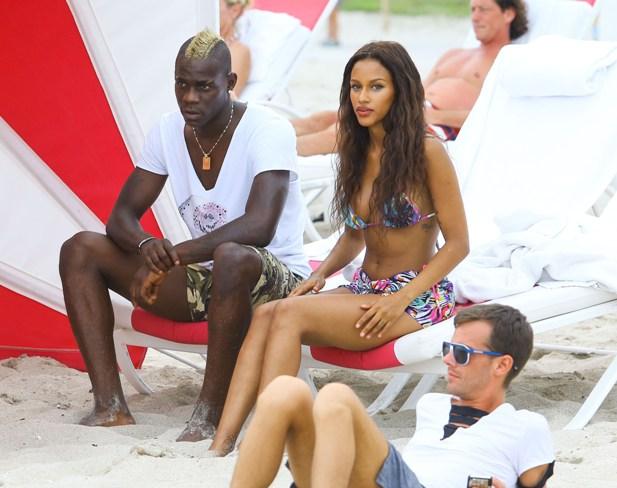 Fanny Neguesha i Mario Balotelli