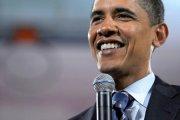 Barack Obama śpiewa przebój!