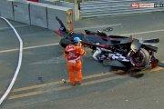 Kraksa w 1. GP Formuły E