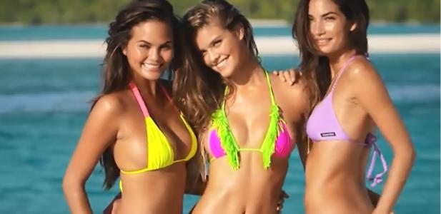 Dziewczyny w bikini Sports Illustrated Swimsuit
