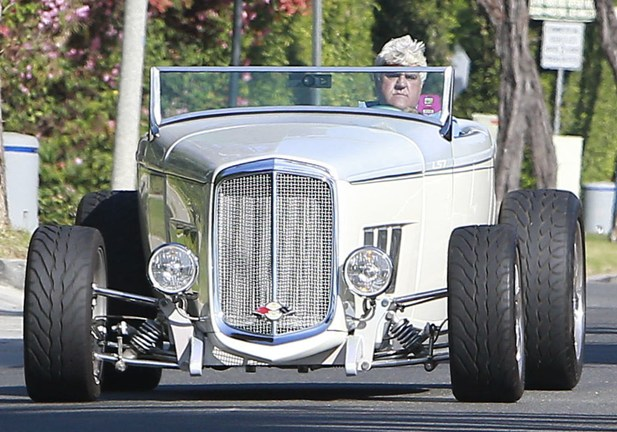 Jay Leno samochód