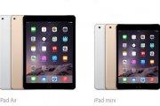 iPad Air 2 i iPad Mini 3 - jabłka wydmuszki