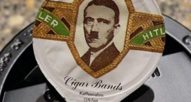 Adolf Hitel na śmietance do kawy