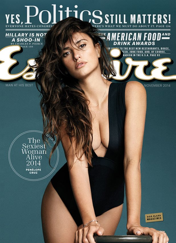 Penelope Cruz esquire 2014