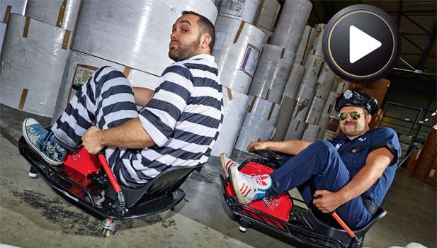 Crazy Cart testy