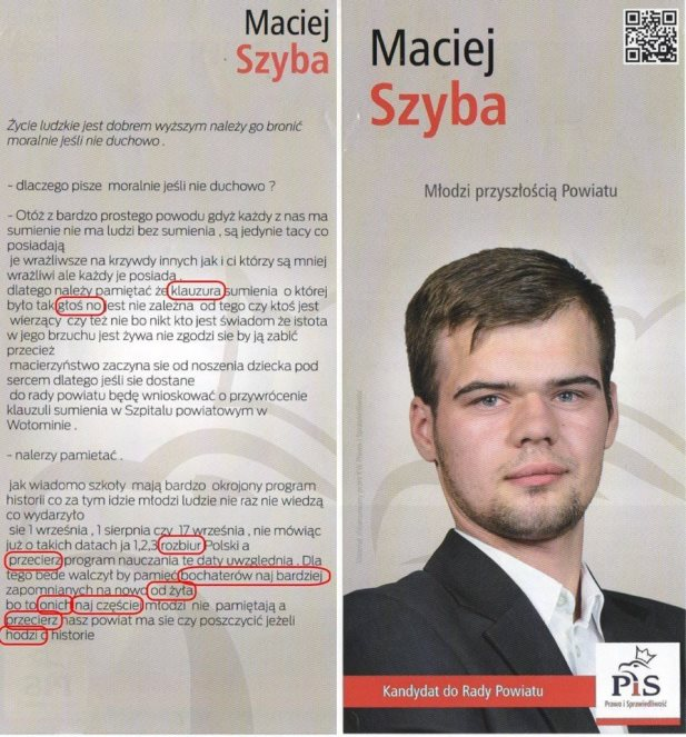 Maciej Szyba plakat