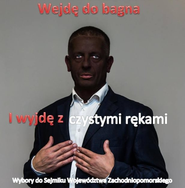 wejde do bagna