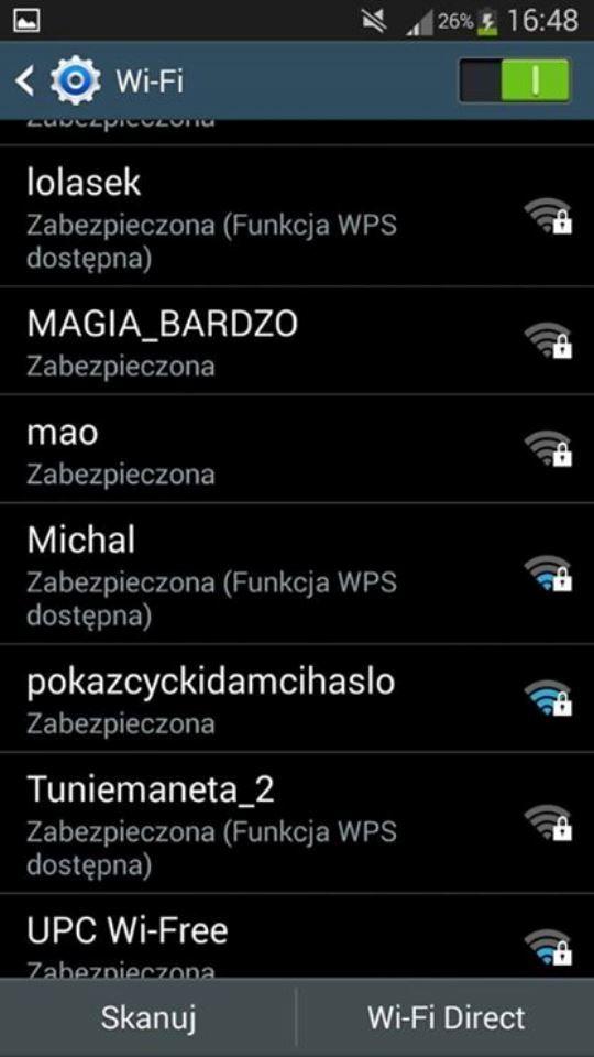 pokaż cycki nazwa wifi