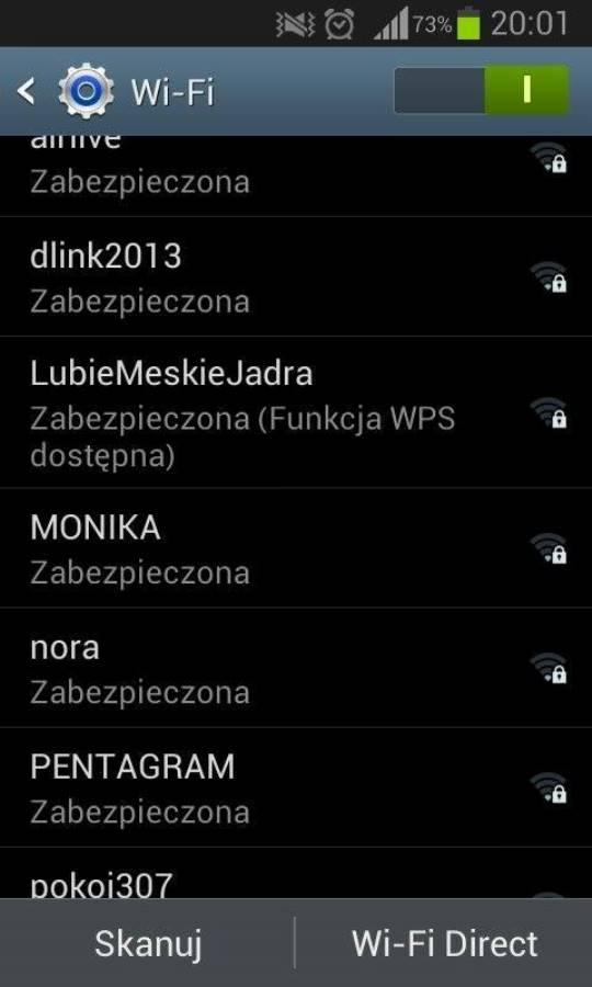 śmieszne nazwy sieci