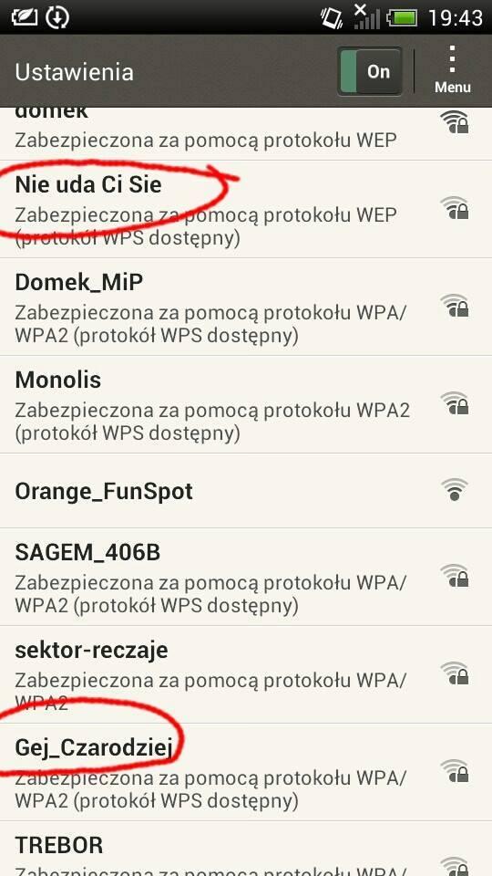 wifi nazwa