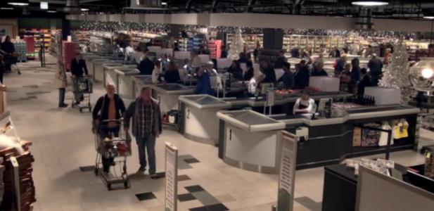 """""""Jingle Bells"""" w supermarkecie"""