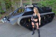 Luksusowy czołg sportowy