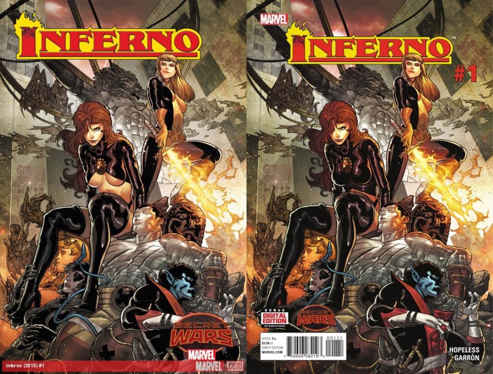 inferno 1 okładki