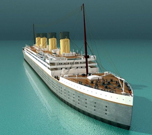 chińska replika titanica