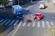 Najbardziej widowiskowe wypadki motocyklowe