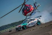 Helikopter vs Toyota- drift fight