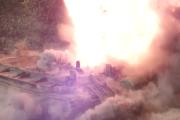 Wybuchy min w slo mo