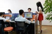 Seksowne motywatorki w chińskich firmach IT