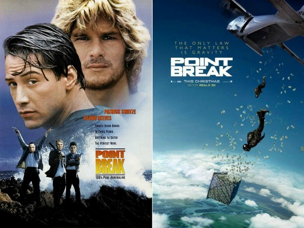 Na fali point break zwiastun