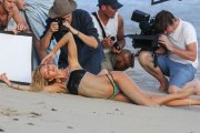 Kulisy sesji Candice Swanepoel