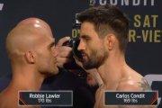 Robbie Lawler vs Carlos Condit na UFC 195