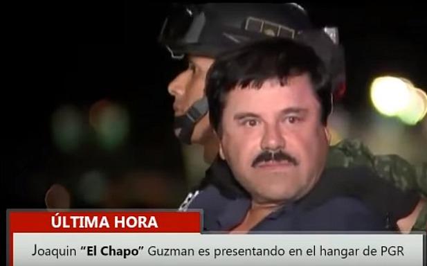 El Chapo aresztowanie