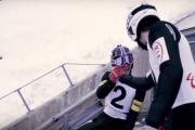 Pierwszy skok narciarski w tandemie