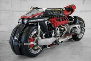 Piekielny motocykl - V8 i 470 KM!