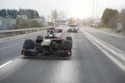 Bolid F1 dopuszczony do ruchu po drogach