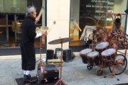 Perkusista żongler