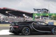 Bugatti Chiron na torze w Le Mans