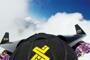 Jetman - zabawa z chmurami