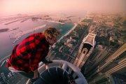 Tragiczny finał akrobacji na dachach wieżowców [WIDEO]