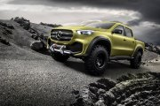 Pick up od Mercedesa - X-Class