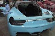 Nielegalna fabryka Ferrari