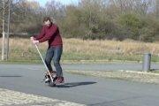 Jak zrobić skuter z piłki?