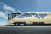 Luksusowy pociąg od designera Ferrari