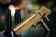 W pełni sprawna broń z Lego