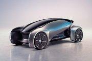 Koncepcyjny Jaguar z autonomiczną kierownicą