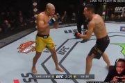 Gracz nielegalnie streamował płatną walkę UFC udając, że gra w nią na konsoli